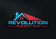 Revolution Roofing Logo - Entry #75