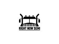 Right Now Semi Logo - Entry #31