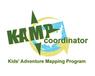 KAMPcoordinator : Kids' Adventure Mapping Program   Logo - Entry #13