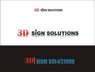 3D Sign Solutions Logo - Entry #176
