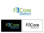 FitCore District Logo - Entry #18