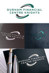 Durham Financial Centre Knights Logo - Entry #66