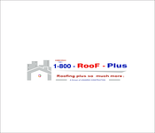 1-800-Roof-Plus Logo - Entry #120