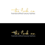 the lash co. Logo - Entry #48
