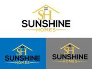 Sunshine Homes Logo - Entry #186