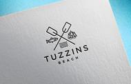 Tuzzins Beach Logo - Entry #290