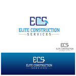 Elite Construction Services or ECS Logo - Entry #170
