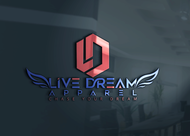 LiveDream Apparel Logo - Entry #380