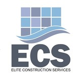 Elite Construction Services or ECS Logo - Entry #22