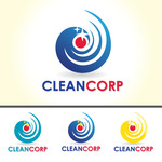 B2B Cleaning Janitorial services Logo - Entry #125