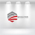 Revolution Fence Co. Logo - Entry #108