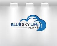 Blue Sky Life Plans Logo - Entry #343