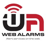 Logo for WebAlarms - Alert services on the web - Entry #53