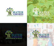 Mater Amoris Montessori School Logo - Entry #165