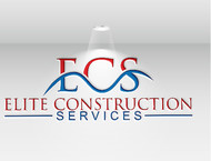 Elite Construction Services or ECS Logo - Entry #133