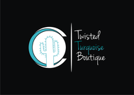 Twisted Turquoise Boutique Logo - Entry #194