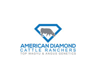 American Diamond Cattle Ranchers Logo - Entry #189