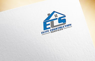 Elite Construction Services or ECS Logo - Entry #289