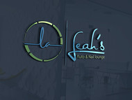Leah's auto & nail lounge Logo - Entry #130