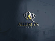 Allure Spa Nails Logo - Entry #157