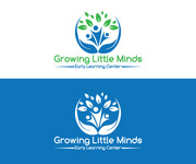 Growing Little Minds Early Learning Center or Growing Little Minds Logo - Entry #114