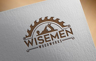 Wisemen Woodworks Logo - Entry #40