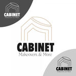 Cabinet Makeovers & More Logo - Entry #66