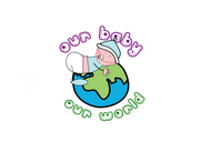 Logo for our Baby product store - Our Baby Our World - Entry #79