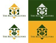 The Real Realtors Logo - Entry #132