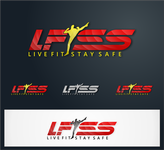 Live Fit Stay Safe Logo - Entry #295