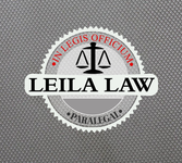 Leila Law Logo - Entry #109