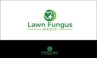 Lawn Fungus Medic Logo - Entry #187