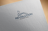 Revolution Roofing Logo - Entry #458
