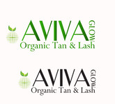 AVIVA Glow - Organic Spray Tan & Lash Logo - Entry #6