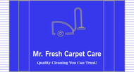 Mr. Fresh Carpet Care Logo - Entry #100