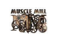 Muscle MIll Logo - Entry #84