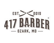 417 Barber Logo - Entry #64