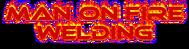 Man on fire welding Logo - Entry #43
