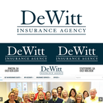 """DeWitt Insurance Agency"" or just ""DeWitt"" Logo - Entry #61"