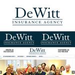 """""""DeWitt Insurance Agency"""" or just """"DeWitt"""" Logo - Entry #61"""