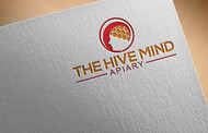 The Hive Mind Apiary Logo - Entry #46