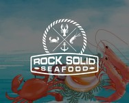 Rock Solid Seafood Logo - Entry #65