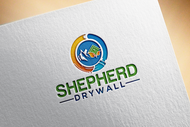 Shepherd Drywall Logo - Entry #162