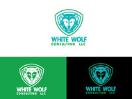 White Wolf Consulting (optional LLC) Logo - Entry #87