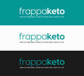 Frappaketo or frappaKeto or frappaketo uppercase or lowercase variations Logo - Entry #110