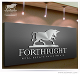 Forthright Real Estate Investments Logo - Entry #7