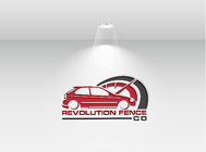 Revolution Fence Co. Logo - Entry #330