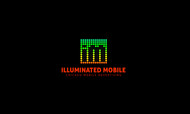 Illuminated Mobile  OR Illuminated M ... I own both urls and I'm still considering what brand to lead with. Logo - Entry #81