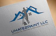 uHate2Paint LLC Logo - Entry #98