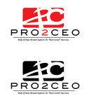 PRO2CEO Personal/Professional Development Company  Logo - Entry #82